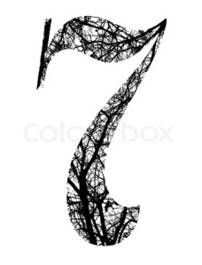 3021256-913165-number-seven-made-from-black-tree-branches-with-clipping-path