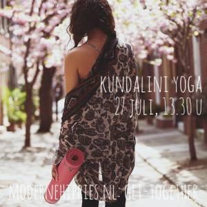 Moderne Hippies Kundalini Yoga Roest