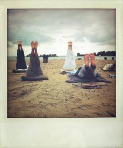 Yoga op Blijburg