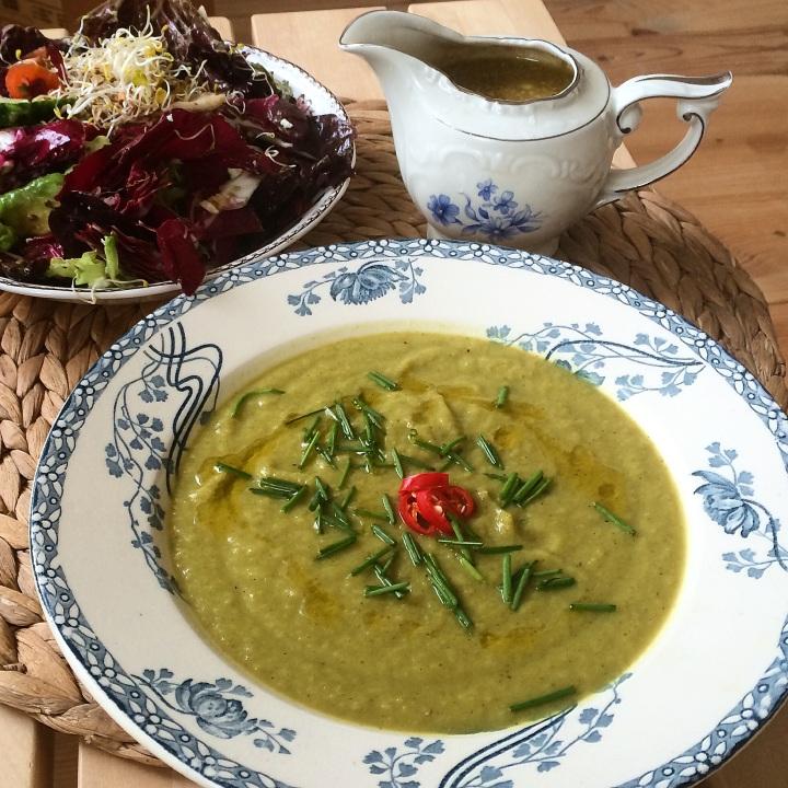 Knolselderij Broccoli soep
