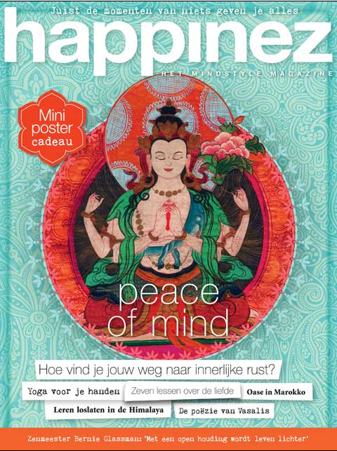 Kundalini Yoga Amsterdam in Happinez Cover nr.1 2015