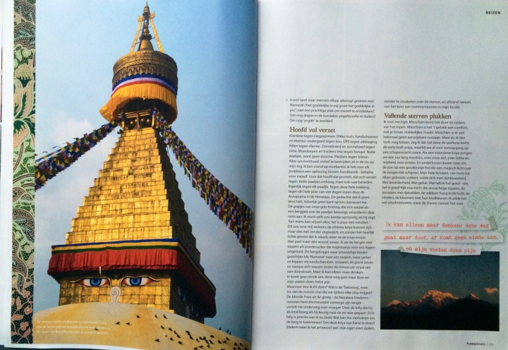Kundalini Yoga Amsterdam in Nepal en Happinez blz 5