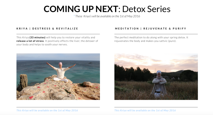 Detox Series Kundalini Yoga School