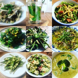 Spring Detox with Kundalini Yoga and Green Diet